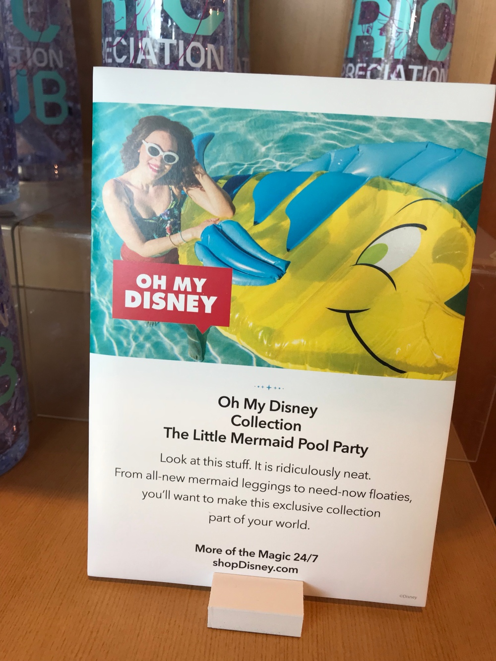 a64c2ae1f2c3c4 There is also a lot more to see online that wasn't available at my local  Disney store. Like pool floats and Bluetooth speakers!